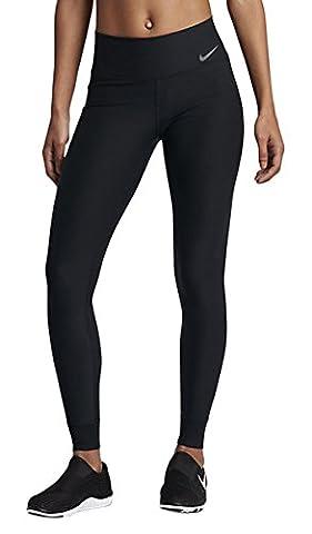 Nike Damen Tight NK Power Leggings Hose, Black/Cool Grey, S