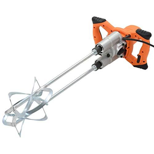 FESTNIGHT Mezclador Cemento Eléctrico Naranja Velocidad