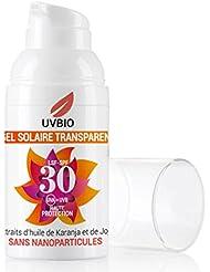 Gel visage transparent bio solaire IP30 - 30 ml