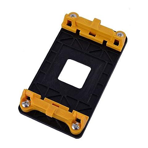sourcingmap® Plastic Stand Holder BaseAM2 AM2+ AM3 AM3+ FM1 FM2 Socket AMD Fan Bracket Stand Base