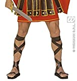 ROMAN SANDALS LEATHERLOOK ACCESSORY MEN AND ROME FANCY DRESS COSTUME 1 ITEM BRAND NEW