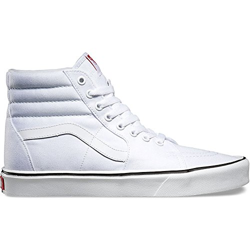 Vans Ua Sk8-Hi Lite, Sneakers Hautes Mixte Adulte, (Canvas) Black/Black Canvas True White
