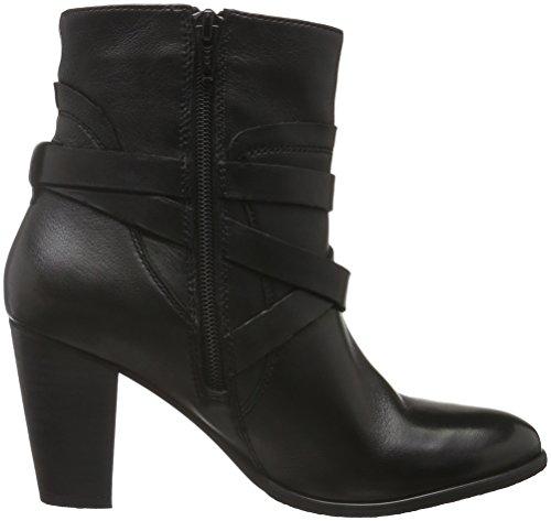 SPM - Calvin Ankle Boot, Stivali a metà polpaccio con imbottitura leggera Donna Nero (Schwarz (Black/Black/Black))