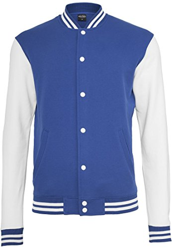 Herren Jacke Bekleidung 2 Tone College Sweatjacket
