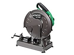 Hitachi CC14SF/J1 Cut-Off Machine (355 mm wheel, 2000 W, 230 V)