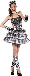 Reír Y Confeti - Fibsex008 - Para Disfraces para Adultos - vestido de cebra sexy