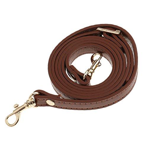 Sharplace 120cm Adjustable DIY Shoulder Bag Accessories Handbag Handles Straps Orange - Brown, Adjustable Length