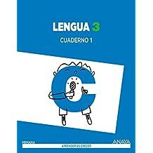 Lengua 3. Cuaderno 1. (Aprender es crecer) - 9788467847659