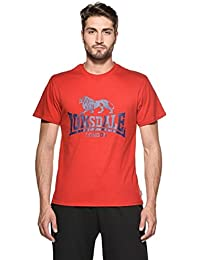 Lonsdale Camiseta Logo rojo XL (L UK)