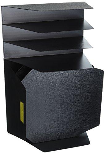 Sandusky Buddy 4102–4Produkte Mirage Schreibtisch Combo, Stahl, 25,4cm x 16,5cm x 38,1cm, Schwarz