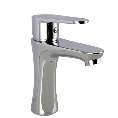 Tous Copper Basin Hot And Cold Water Tap Bathroom Lavabo Robinet Single Hole Bathroom Faucet Basin contre