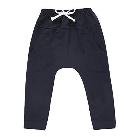 CHIC-CHIC-Pantalons enfant Sport Fashion Trending Mi-Long avec 2 Poches Plaquées