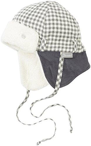 Sterntaler Baby-Jungen Mütze Fliegermütze Grau (Graphit 593), 49 cm