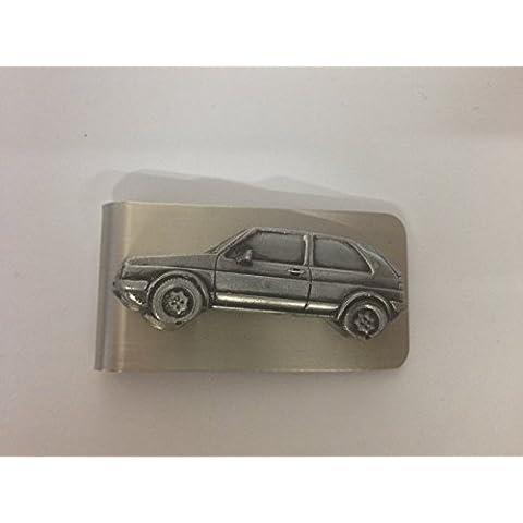 VW Golf GTI Mk23d effetto peltro emblema su una splendida Money Clip ref300