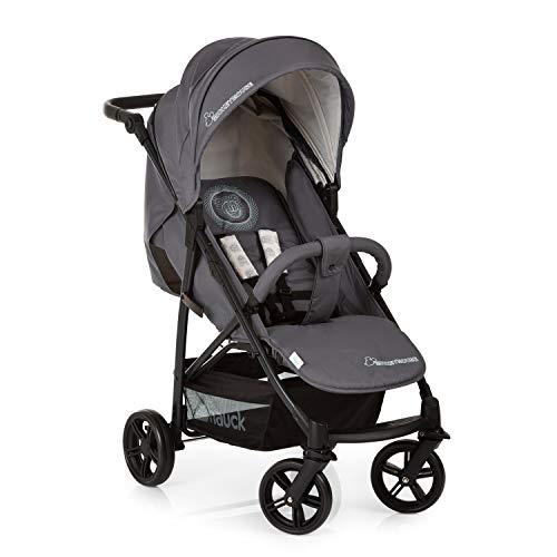 *Hauck Buggy Disney Rapid 4X mit Liegefunktion, klein zusammenklappbar / für Kinder ab Geburt bis 25 kg, Mickey Cool Vibes (Grau)*