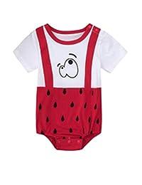 Pijama unisex de algodón para bebés, niños y niñas, estampado de pijamas para bebés de 0 a 24 meses