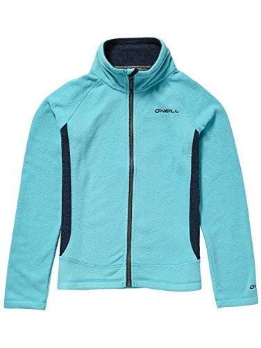 O'Neill Mädchen Kinder Kapuzenjacke Slope Zip Hoodie Girls Shirts & Fleece, Island Blue, 152 Island Zip Hoodie