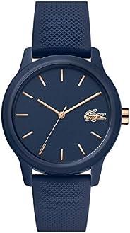 Lacoste Womens Quartz Wrist Watch, Analog and Silicone- 2001067