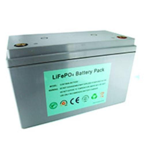 Ultramax 100Ah 12V Lithium LiFePO4-Batterie für Freizeit, Solar, Wind und 12Volt
