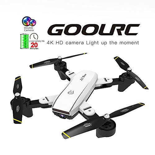 Mobiliarbus RC Quadcopter GoolRC SG700-D FPV RC Drone con Telecamera 4K HD grandangolare Flusso Ottico di Posizionamento Follow Me Altitude...