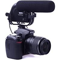BOYA BY-VM190 3.5mm Direzionale Stereo Video Condenser Microfono Microphone Mic Per DSLR Camera Canon Nikon Camera Camcorder DV LF477