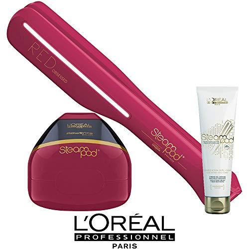 Pack cheveux épais Steampod Edition limitée Red Obsessed L'Oréal