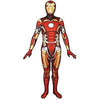 BLOIBFS Iron Man Rollenspiel Elastische Bodysuit Strumpfhosen Halloween Show Kostüm Requisiten,A-M
