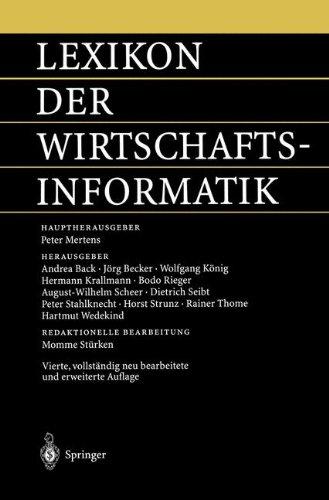 Lexikon der Wirtschaftsinformatik (German Edition)