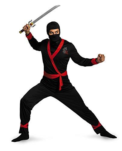 Cheech Chong Kostüm - Disguise Ninja Master Kost-m Erwachsene plus XX-Large - 50-52