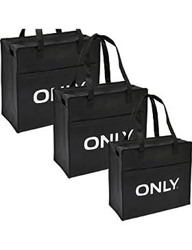 ONLY TASCHEN 3er PACK Shopping Bags Einkaufstasche Tasche Bag NEU