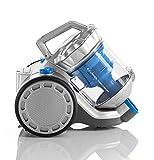 e.ziclean Turbo Confort, Aspirateur Traîneau sans Sac Multicyclonique, Plastique, Gris