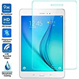 Samsung Galaxy Tab A SM-P350 For Tempered Glass [8.0-inch] Premium 2.5D 9H Anti-Fingerprints & Oil Stains Coating Hardness Screen Protector Guard For Samsung Galaxy Tab A SM-P350