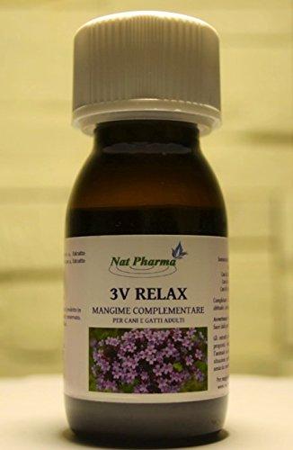 3V RELAX 50 ML - Sedante natural y tranquilizante para perros y...