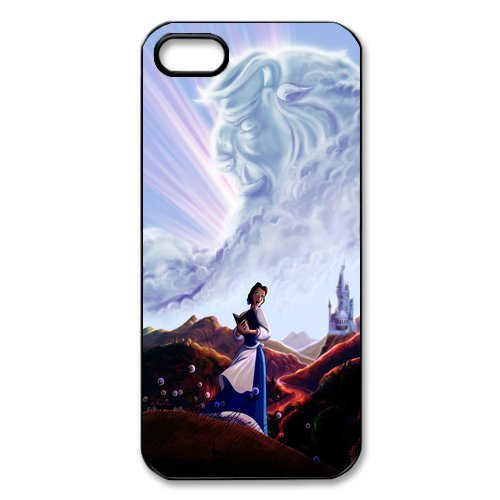 """Disney beauty and the beast pour iPhone 5/5S-personalized coque de protection pour iPhone 5S disney """"customize beauty and the beast tPU phone case coque de téléphone portable, étui de pr"""