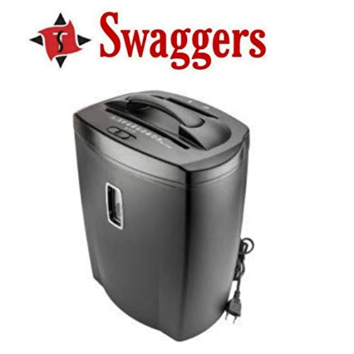 Swaggers 8 Sheets Paper Shredder with cd and Credit Card Cutter