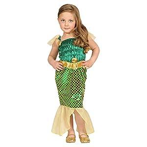 WIDMANN - Disfraz de Sirena y Poseidón para niños, multicolor, 104 cm/2 - 3 años, 48619