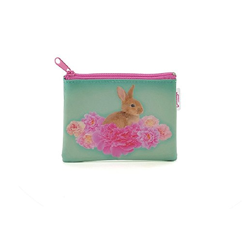 Image of 'Jellycat Bunny Rabbit On Flower Rabbit Purse Wallet Coin Purse