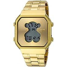 Reloj Tous D-Bear SQ de acero IP dorado