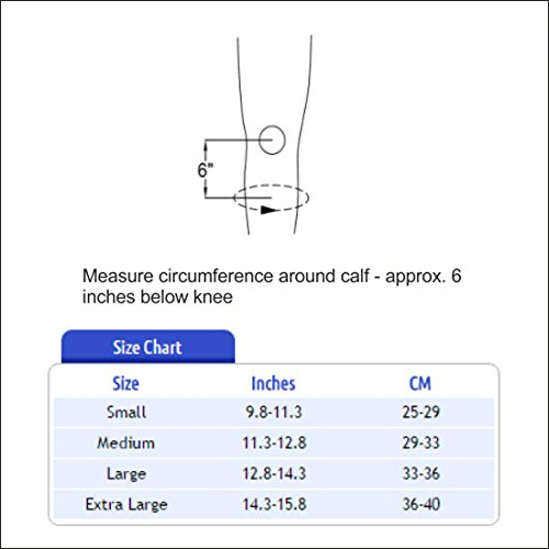 Tynor Compression Below Knee Stocking - Large
