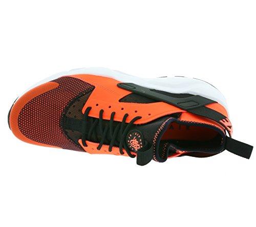 Nike Air Huarache Run Ultra, Scarpe da Corsa Uomo Nero (Black / totale Crimson-White)