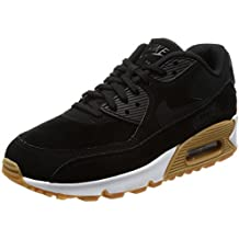 sports shoes 2cba7 ebd87 Nike - Air MAX 90 Se, Zapatillas de Gimnasia Mujer, Negro (Black