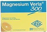 Verla Magnesium Granulat 300 mg, 20 Stück