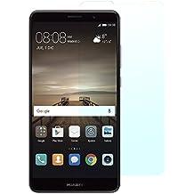2x AJ-cover® Huawei Mate 9 Panzerglas Echtglasschutz, superharte und passgenaue Glasfolie (2 Stück) für das Huawei Mate 9