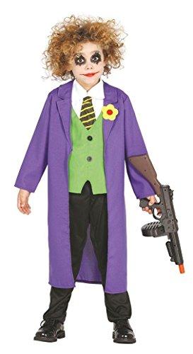 OR CLOWN - Größe 100-115 cm ( 5-6 Jahre ) (Jungen Killer Clown Kostüme)
