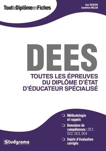 Tout le diplôme d'état d'éducateur spécialisé (DEES)