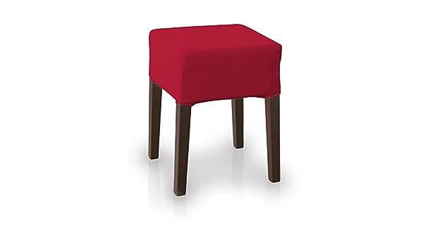 Dekoria ikea nils sgabello colore: rosso: amazon.it: casa e cucina
