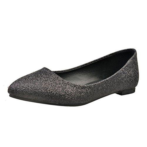 Chaussures pointues fashion Lady leisure/Plat/Chaussures féminines plat coréen A