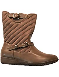 Generic Women's Brown Reaction Boots - Size: 38