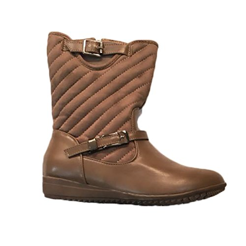Generic Women's Brown Reaction Boots - Size: 40