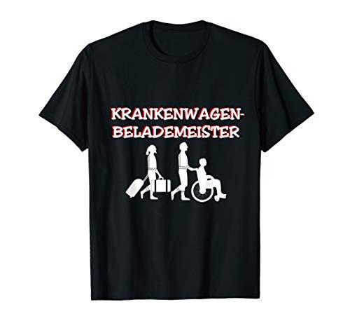 Lustiges Krankenwagenbelademeister Notfallsanitäter Retter T-Shirt